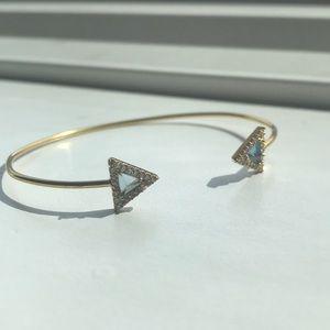 Jewelry - Gold, diamond, and Clayton bracelet